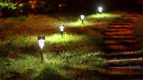 Bell & Howell Disk 4 Piece LED Landscape Lighting Set & Reviews ...