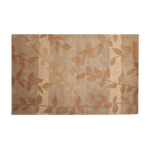 Mystic Hand-Knotted Gold/Beige Area Rug