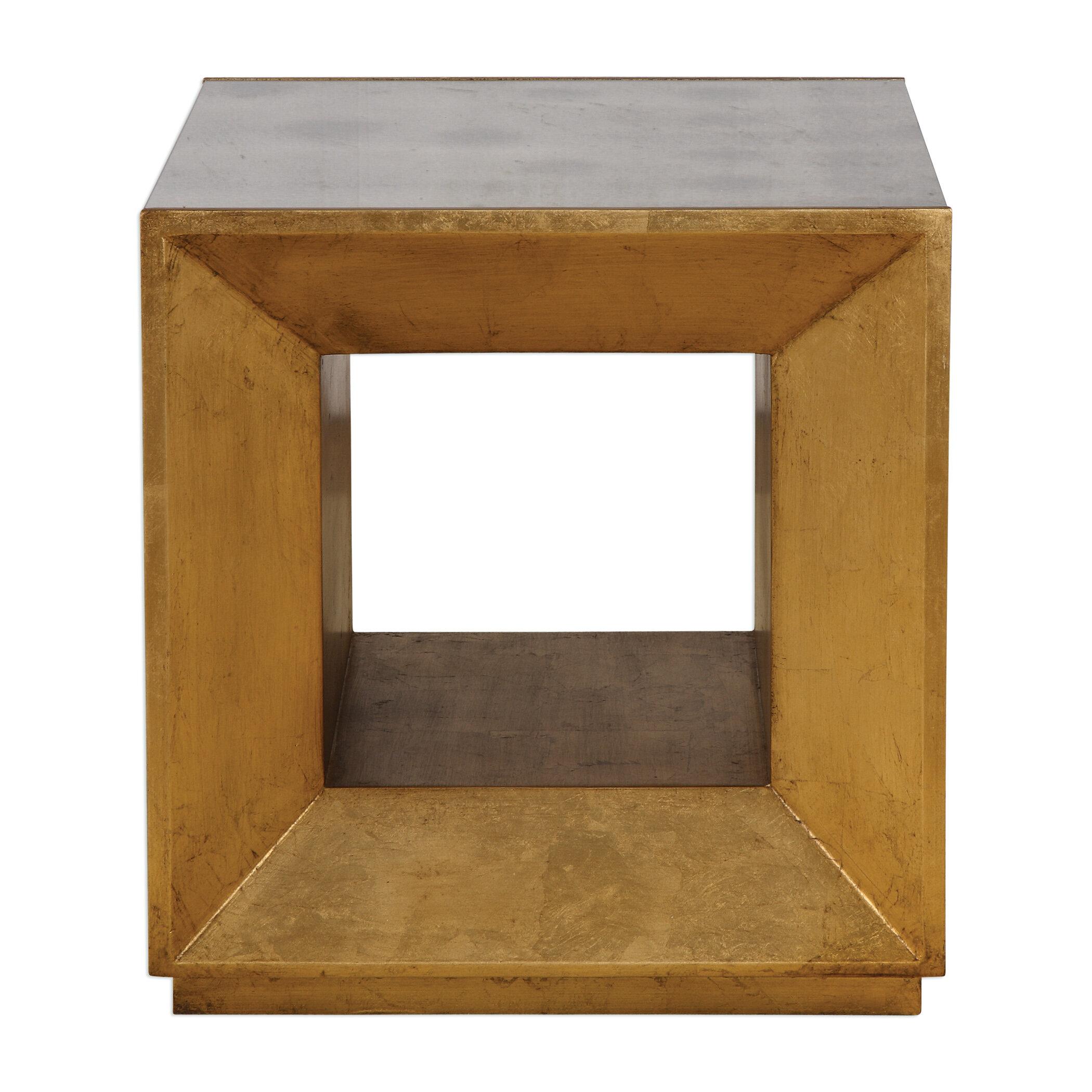 designer fashion 67fb7 c6faa Winston Cube End Table