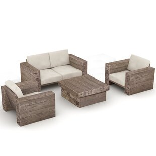 Union Rustic Rattan Sectional Sofa Sets