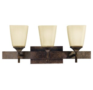 Fleur De Lis Living Gwaltney 3-Light Vanity Light