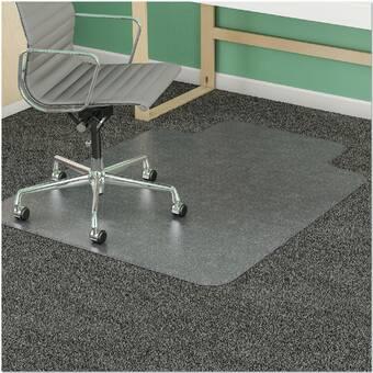 Es Robbins Trendsetter Hard Floor Straight Rectangle Chair Mat Wayfair