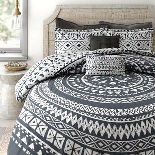 Azemmour 7 Piece 100% Cotton Reversible Comforter Set