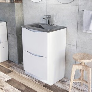 Harleigh 120mm Wall Mounted Vanity Unit By Ebern Designs