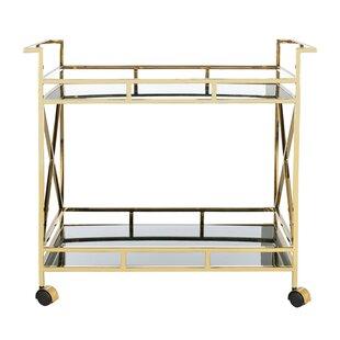 Ellinger 2 Shelf Bar Cart