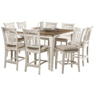Pandian Bayberry 9 Piece Counter Height Dining Set by August Grove Today Sale Only