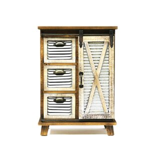 Maliana 3 Drawers and 1 Door Accent Cabinet by Gracie Oaks