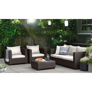 Halloran 2 Piece Sofa Seating Group with Cushions