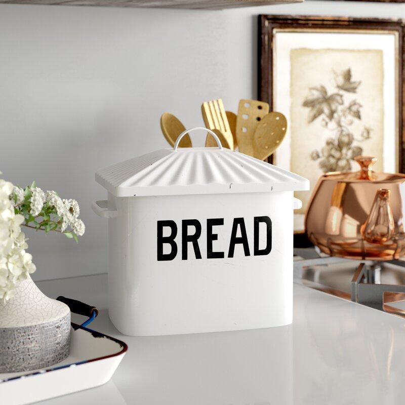 Laurel Foundry Modern Farmhouse Selim Bread Box Reviews