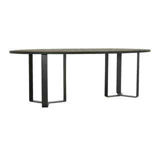 17 Stories Raina Oval Dining Table
