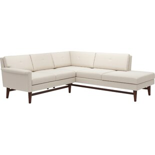 Shop Diggity Corner Sectional Sofa with Bumper by TrueModern