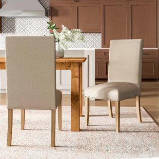 Falconer Upholstered Dining Chair (Set Of 2) By Ophelia & Co.