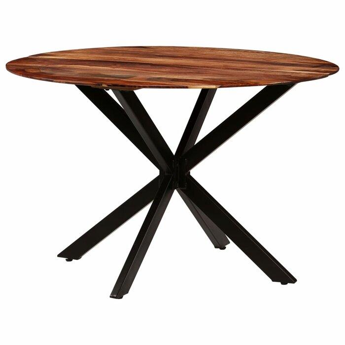 Dermott Solid Sheesham Wood Dining Table