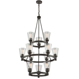 Jina 12-Light Candle-Style Chandelier