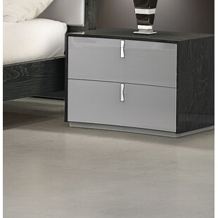 Inexpensive Trahan 2 Drawer Nightstand By Orren Ellis