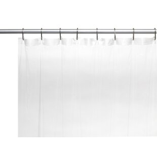 Bargain Vinyl 5 Gauge Shower Curtain Liner BySymple Stuff