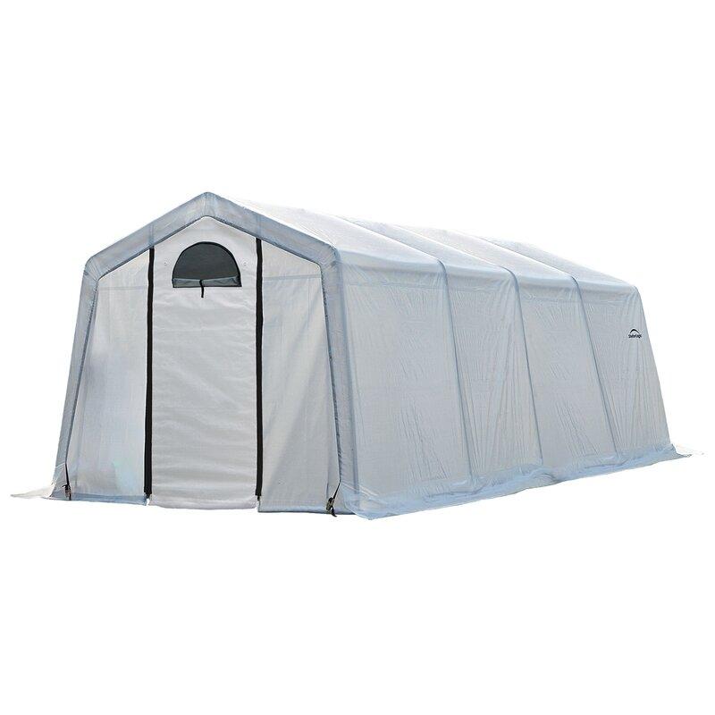 Shelterlogic Growit 10 Ft W X 20 Ft D Greenhouse Reviews Wayfair