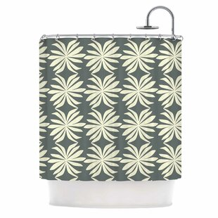Palm by Amy Reber Single Shower Curtain