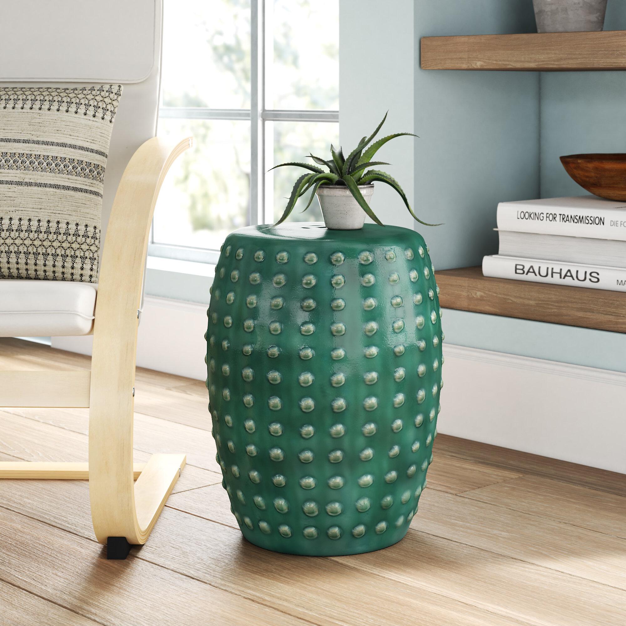 Phenomenal Renee Porcelain Garden Stool Andrewgaddart Wooden Chair Designs For Living Room Andrewgaddartcom