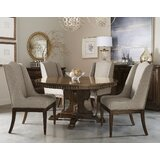 Salyers 5 Piece Solid Wood Dining Set by Alcott Hill®