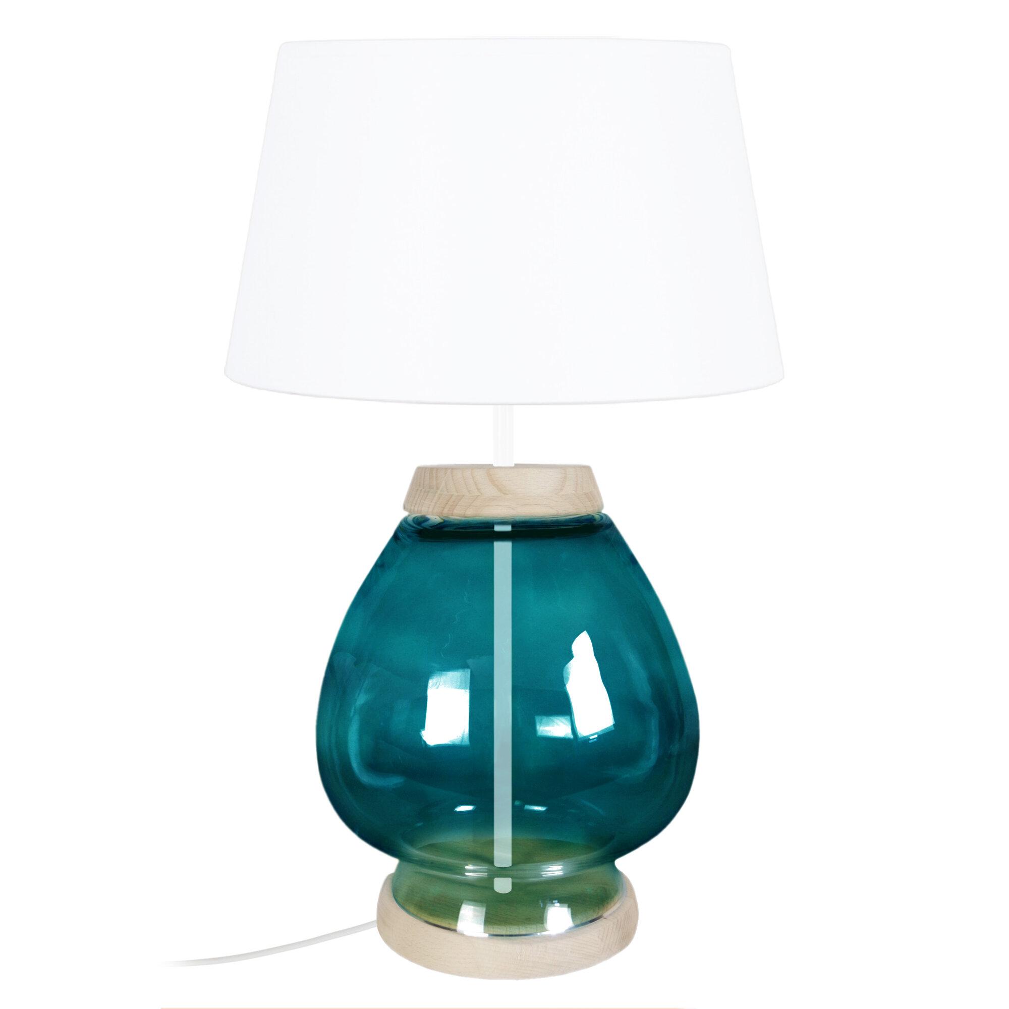 Image of: Beachcrest Home Rosa 60cm Table Lamp Wayfair Co Uk