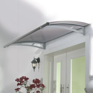 Aquila? 5 ft. W x 3 ft. D Door Awning by Palram