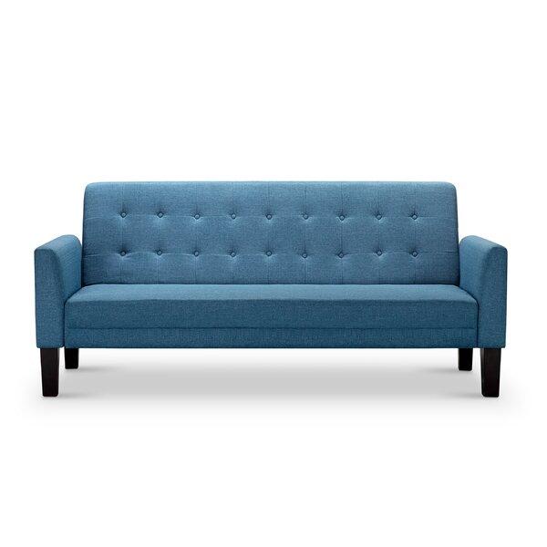 Outstanding Navy Blue Tufted Sofa Wayfair Machost Co Dining Chair Design Ideas Machostcouk
