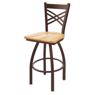 Daniela 25 Swivel Bar Stool By Alcott Hill