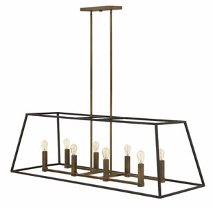 Foundry Select Burley Oak 8-Light Pendant