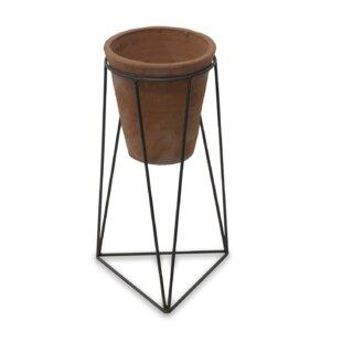Jara Terracotta Plant Pot By Nkuku