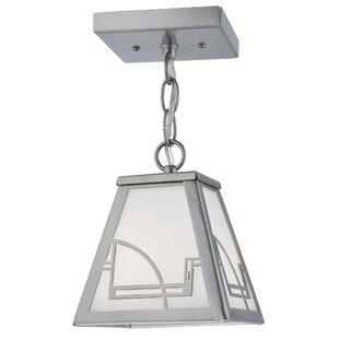 Meyda Tiffany Revival Deco 1-Light Lantern Pendant