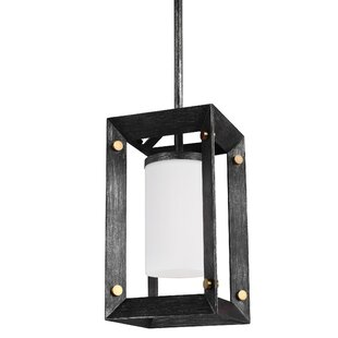 Neston Modern 1-Light Square/Rectangle Pendant by Wrought Studio