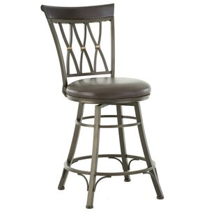 Ellis Island 30 Swivel Bar Stool by Red Barrel Studio