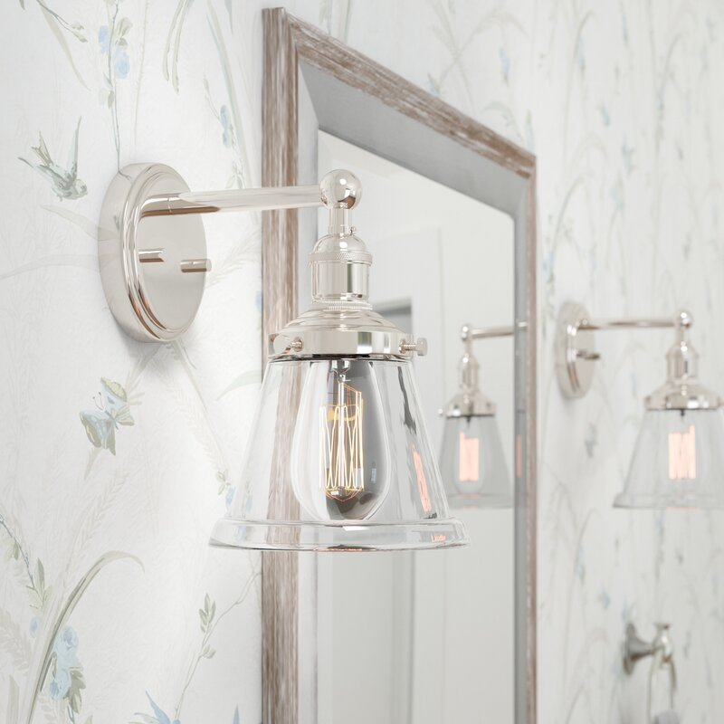 Laurel Foundry Modern Farmhouse Sandy Springs 1-Light Bath Sconce & Reviews | Wayfair