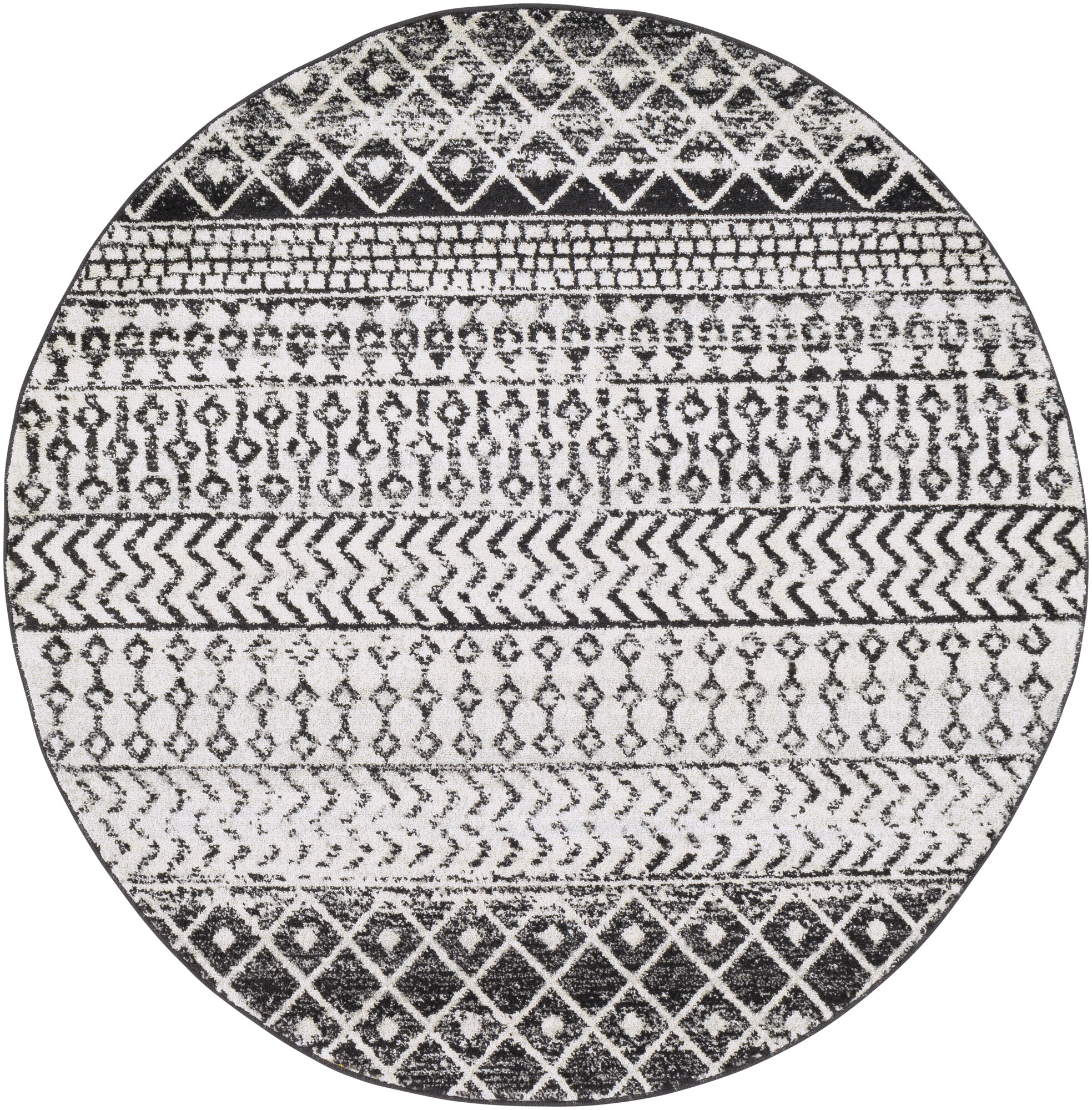 Modern Contemporary Round Area Rugs You Ll Love In 2020 Wayfair