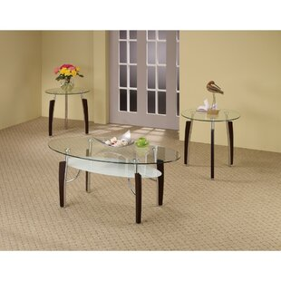 Sirohiwala Sturdy 3 Piece Occasional End Table Set by Latitude Run