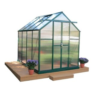 Grandio Greenhouses Element Heavy-Duty Aluminum 6 Ft. W x 8 Ft. D Greenhouse