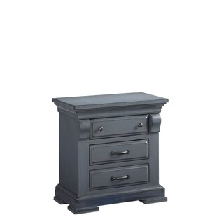 Sedbergh 3 Drawer Nightstand