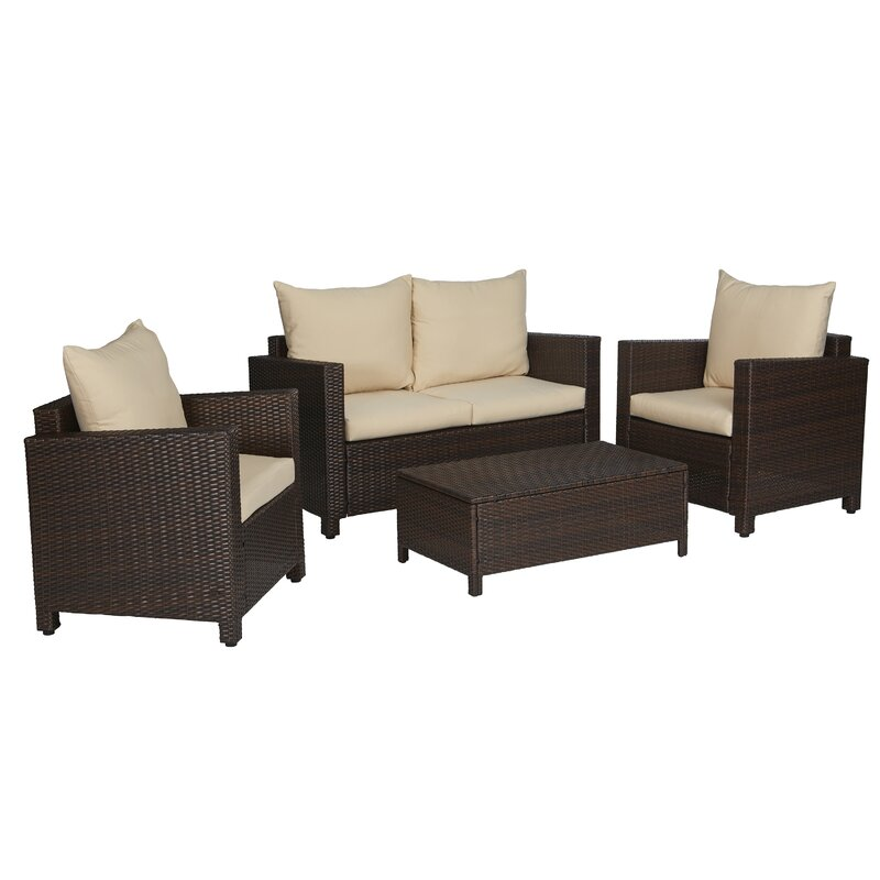 Rattan Sofa Set Cheap