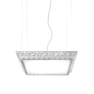 Masiero Arte 4-Light Square/Rectangle Chandelier