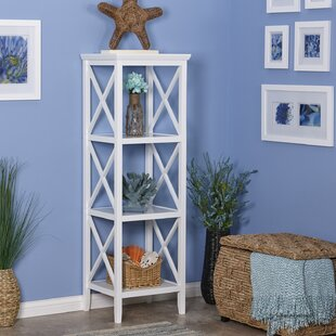 Best Reviews Piperno Etagere Bookcase by Highland Dunes