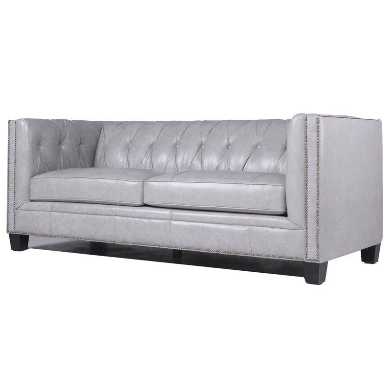 Katy Leather Chesterfield Sofa