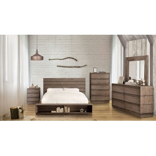 Pisani California King Panel Configurable Bedroom Set by Union Rustic #1