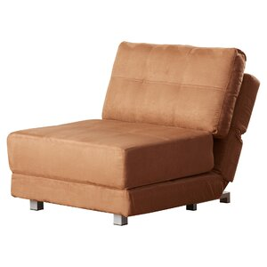 Krystal Microfiber Convertible Chair