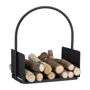 Trace Steel Log Carrier By Alpen Home