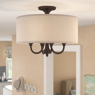 Bargain Becher 4-Light Semi Flush Mount By Darby Home Co