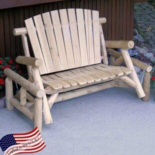 Glider Bench by Lakeland Mills