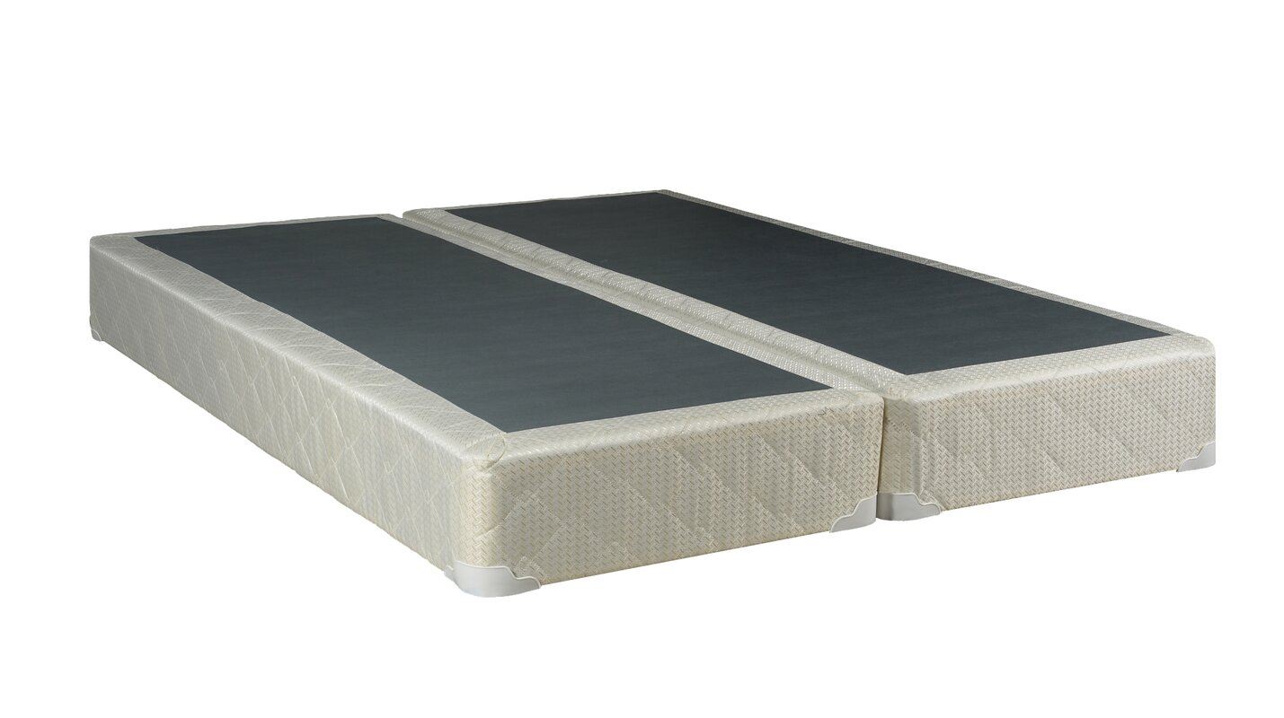 ... Full Box Springs & Mattress Foundations/; SKU: SPSO1009. default_name - Spinal Solution Hollywood Split Full Size Box Spring & Reviews