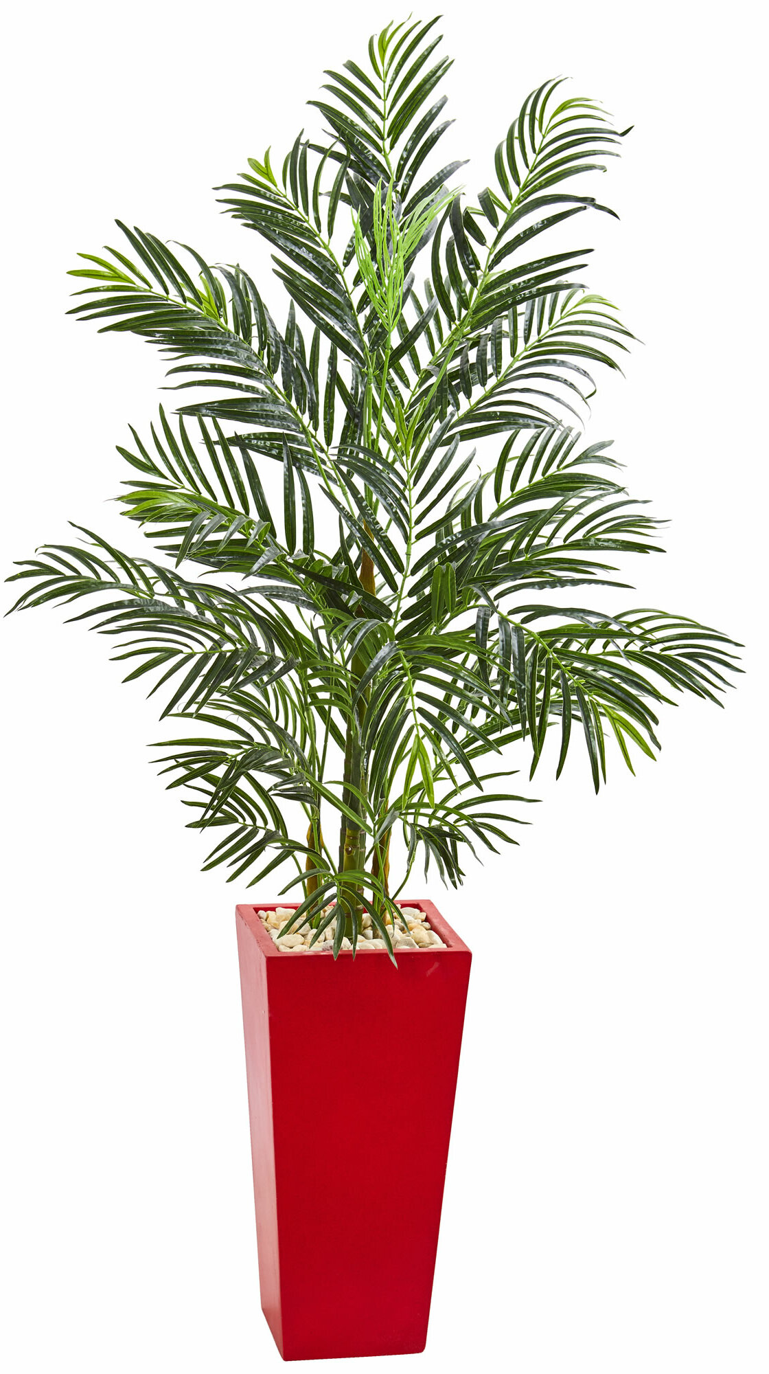 Bay Isle Home 60 Artificial Palm Tree In Planter Wayfair