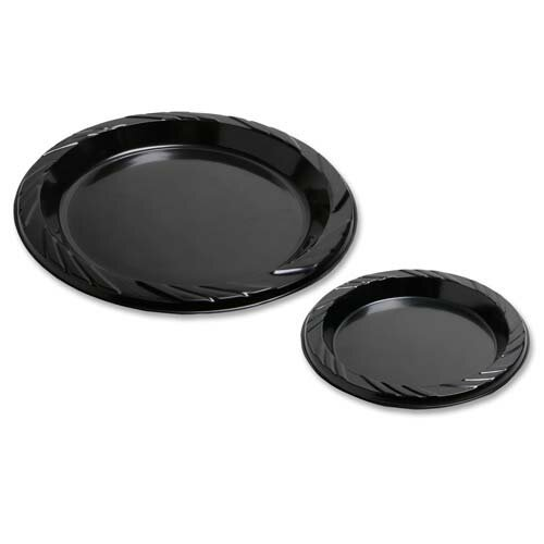 Round Plastic Plates  sc 1 st  Wayfair & Genuine Joe Round Plastic Plates u0026 Reviews | Wayfair